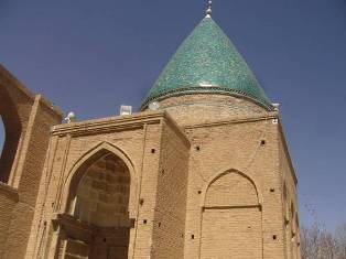 dome of Bayazid mausoeum